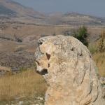 Adıyaman'da 2 bin yıllık heykel tahrip edildi