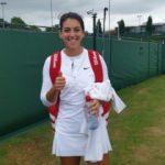 İpek Soylu Wimbledon çiftlerde turladı
