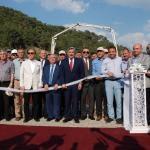 Gediz'de Termal Tatil Köyü Projesi'nin temeli atıldı