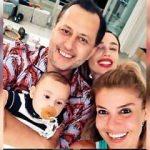 Gülşen oğlu Azur Benan'la ev ziyaretine gitti