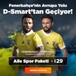 Fenerbahçe'nin Avrupa Yolu D-Smart'tan Geçiyor