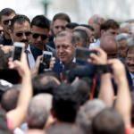 Erdoğan Yıldız Hamidiye Camii'ne geldi! Yoğun ilgi