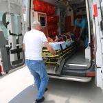 Yüksekten düşen çocuk yaralandı