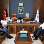 Ordu ve Aksaray üniversiteleri rektörleri buluştu