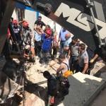 Gaziantep'te 3 işçi çöken istinat duvarının enkazında kaldı