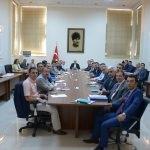 Kırklareli'de idare şube başkanları toplantısı
