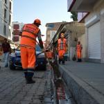Malazgirt Belediyesine temizlik ekibi desteği