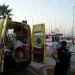 İstanköy Adası'nda kaza geçiren iki Türk Bodrum'a getirildi