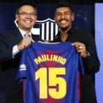 Barcelona Paulinho'yu açıkladı! İşte ilk sözleri
