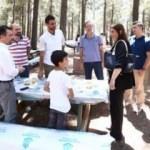 Basın mensupları Şamlar Tabiat Parkı'nda buluştu