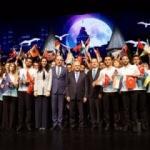 "Cumhurbaşkanlığı'nda 700 gençten ""Türkçe"" veda"