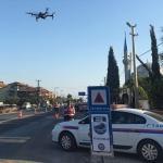 İzmir'de jandarmadan drone destekli uygulama