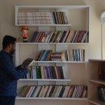 """Yüksekova'da """"kitap kafe"""" hizmete açıldı"""