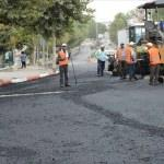 Keşan'da asfaltlama çalışmaları sürüyor