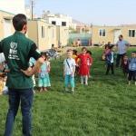Suriyeli yetimlerin anaokulu heyecanı