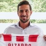 38'lik Pizarro'nun yeni adresi!