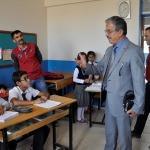 Sivil savunma uzmanları okulları denetliyor