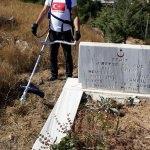 Suşehri'nde şehit mezarlarında çevre düzenlemesi
