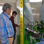 Yüksekova'da aspir yağı üretimi
