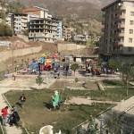Şemdinli'de çocuklar için park ve oyun alanı