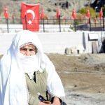 Erzurum'da Osmanlı askerleri için yapılan şehitlik törenle açıldı