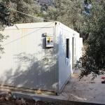 Büyükşehir Belediyesinden konteyner ev yardımı