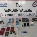 Burdur'da ATM dolandırıcılığı operasyonu