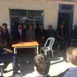 Kaymakam Karabektaş'ın mahalle ziyaretleri