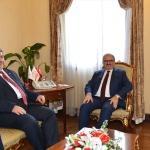 Irak Büyükelçisinden veda ziyareti
