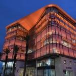 İZTO binası turuncu renkte ışıklandırıldı