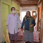 Akseki'de yaşlı ve hastalara evde bakım hizmeti