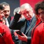 Erdoğan milli futbolcuya telefonla kız istedi!