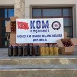 Aydın'da kaçak içki operasyonu