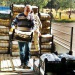 İdlib'deki Türk askerlerine Anamur muzu gönderildi