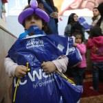 Cerablus'taki yetim çocuklara mont yardımı