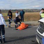 Minibüs'ün çarptığı Karayolları şoförü öldü