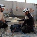 Suriyeli mühendis enkaz kaldırmak için üretti!