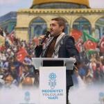 """""""Yürü Aksa'ya Ayaklarına Kudüs Gücü Gelsin"""" etkinliği"""