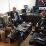 Lüleburgaz Mili Eğitim Müdürü Çetin'e ziyaretler