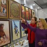 Karasulu kadınlardan resim sergisi