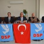 DSP Genel Başkanı Aksakal Kırklareli'nde