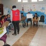 Hizan'da karikatür kursu düzenlendi
