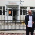 Din görevlisi Afrin'e gitmek için dilekçe verdi