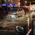 Kadıköy'de zincirleme kaza: Yaralılar var