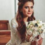Üvey Baba'nın Lamia'sı Burçin Abdullah evlendi!