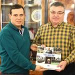 Belediye Başkanı Kesimoğlu'na AA 2017 Yıllığı