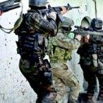 Afrin'e, Sur'un özel timleri