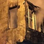 Beyoğlu'nda ahşap binada yangın
