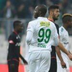 Bursaspor'da Moussa Sow şoku!