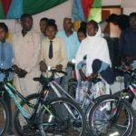 Eritre'de eğitime bisiklet desteği